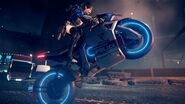 055 - Astral Chain Trailer Female Protagonist Bike