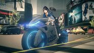 018 - Astral Chain Female Protagonist Bike