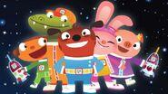 Astroblast characters a l