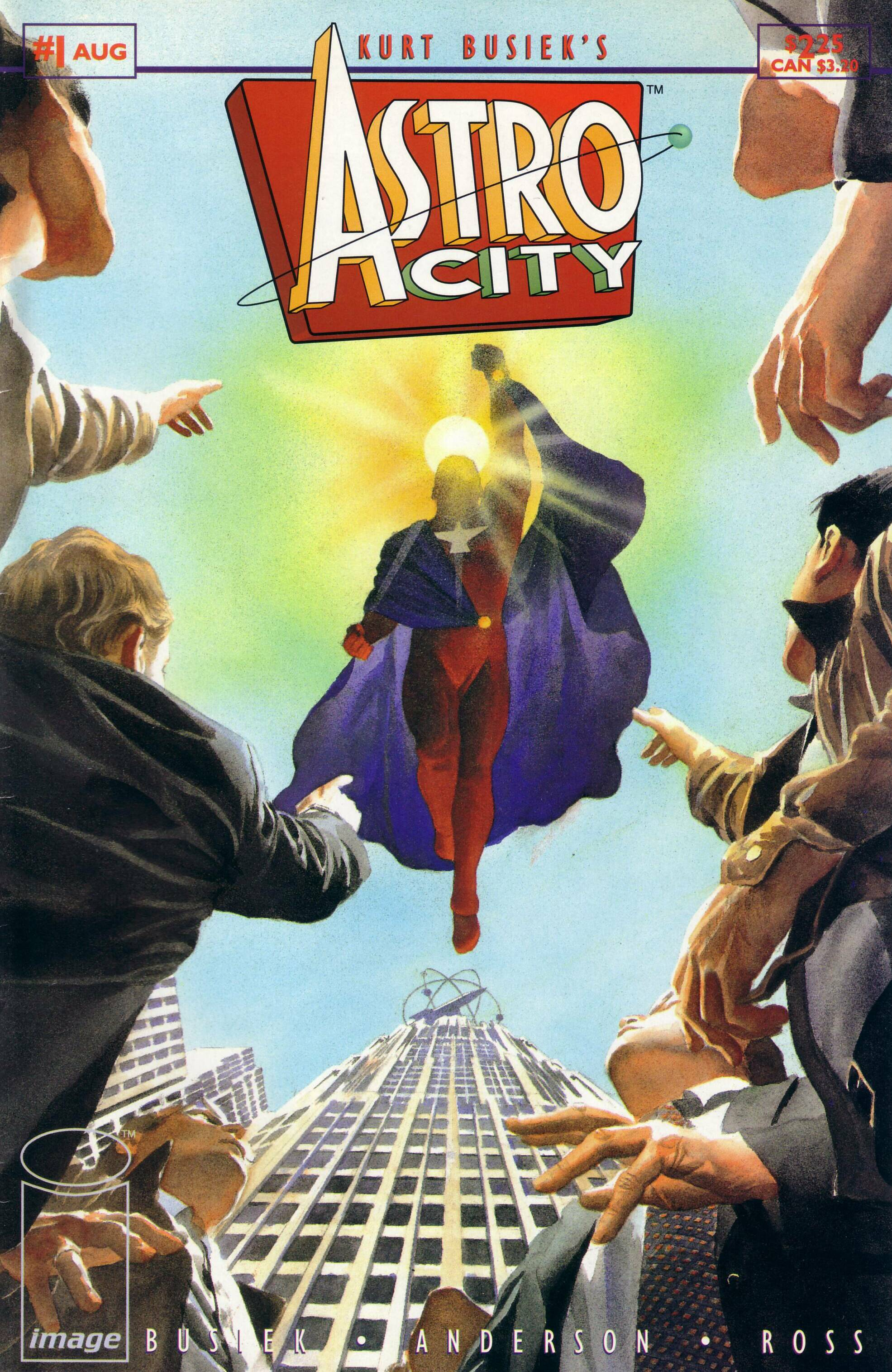 Image result for astro city #1