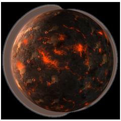 Astro Volcanic medium