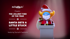The Jolliest Time of The Year 04 - Santa Gets a Little Stuck
