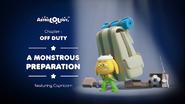Off Duty 12 - A Monstrous Preparation
