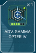 Gamma opter