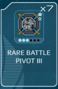 Battle pivot