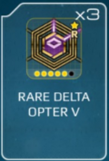 Delta opter