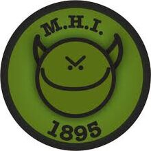 MHI OFFICIAL PATCH LOGO