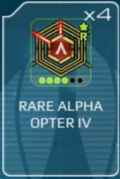Alpha opter