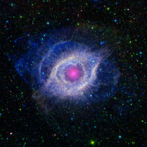 Helix Nebula - Unraveling at the Seams (Spitzer Telescope Oct 5, 2012)