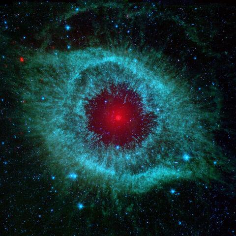 Зображення в інфрачервоному діапазоні, отримане за допомогою космічного телескопа <a class=