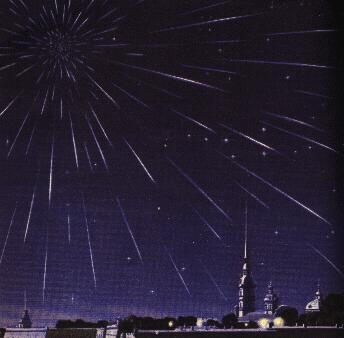 Драконіди у ленінграді 9.10.1933