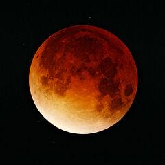 Księżyc podczas zaćmienia 9 listopada 2003