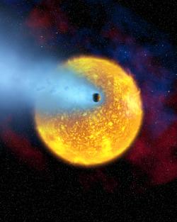 Transiting planet HD 209458b