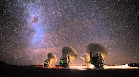ALMA Atacama Large Millimeter Submillimeter Array HD Timelapse