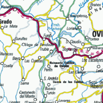 TRUBIA mapa