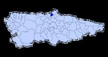 Mapa asturies aviles
