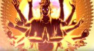 Asura's Wrath Golden Chakravartin