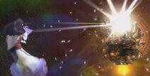 Asura's Wrath Golden Chakravartin Destruction