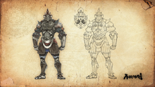 Asura s wrath collection illustration 18 by sidneymadmax-d65vs9m