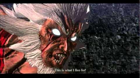 Asura's Wrath Dub Step Battle