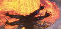 Asura battles Gogen Wyzen