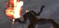 Asura destroys Sergei's ship and attacks him