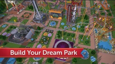 Video - RollerCoaster Tycoon® Touch™ Summer Trailer! | Atari