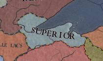 R superior