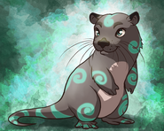 Celousco otter illustration