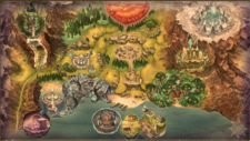 World Map Atelier Ryza