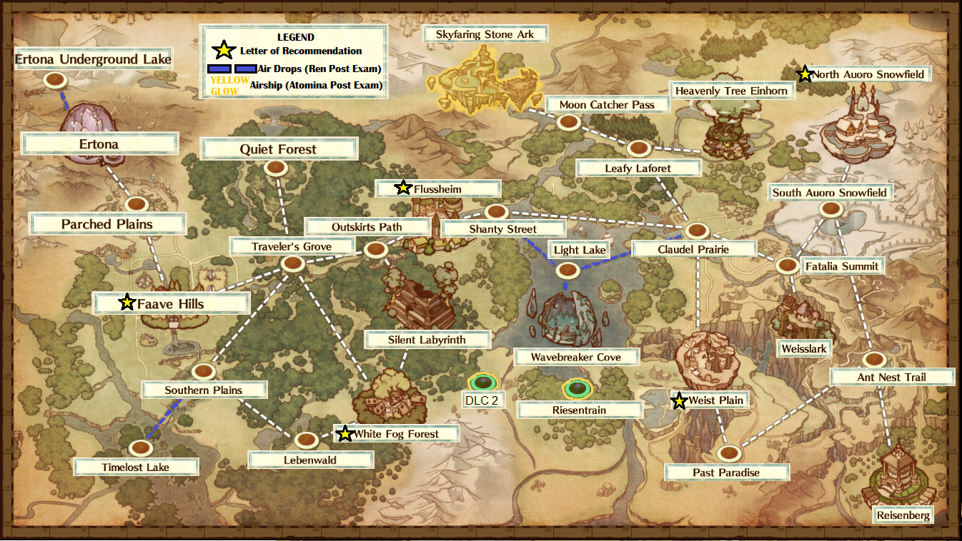 Atelier Firis World Map World map | Atelier Wiki | Fandom