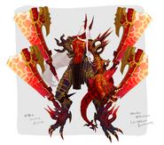 Nazarus demon concept