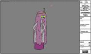 Modelsheet zombie princessbubblegum