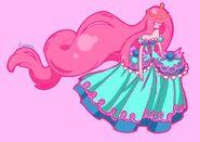 Princess bubblegum by angelynor-d4iu3hl
