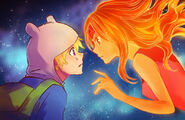 Finn and flame princess by zoo chan-d5968m2