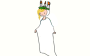 Fionna as the Ghost of Christmas Present