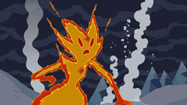 Flame Princess in the Ice Kingdom