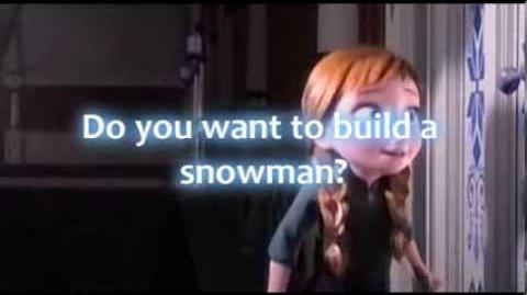 Do you want to build a snowman lyrics - -Frozen- - -HD-