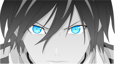 Noragami yato s badass face vector by hkk-d770wfh