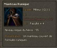 Manteau Runique