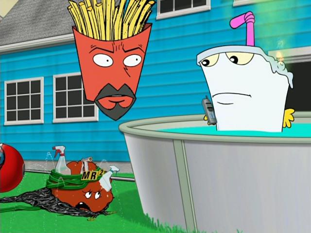 Aqua Teen Hunger Force - S02e07 - Super Sir Loin - Video.
