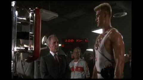 Ivan Drago Training