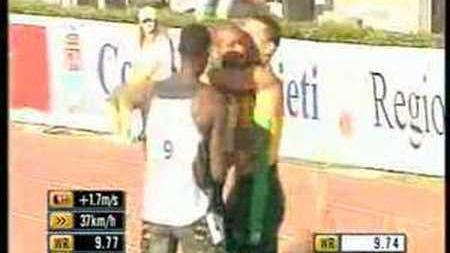 Asafa Powell - 9.74s - 100m