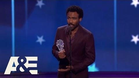 Donald Glover Wins Best Actor in a Comedy Series 22nd Annual Critics' Choice Awards A&E