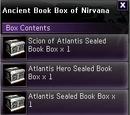 Ancient Book Box of Nirvana