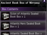 Ancient Book Box of Nirvana