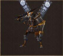 Monster-Ashigaru-Gewehrschütze