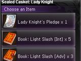 Sealed Casket: Lady Knight