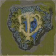 Karte-Yggdrasils Drei Tore-Tor der Gebote