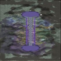 Karte-Yggdrasils Drei Tore-Tor des Mutes